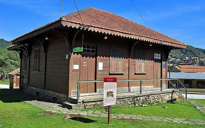 Casa Fox em Paranapiacaba
