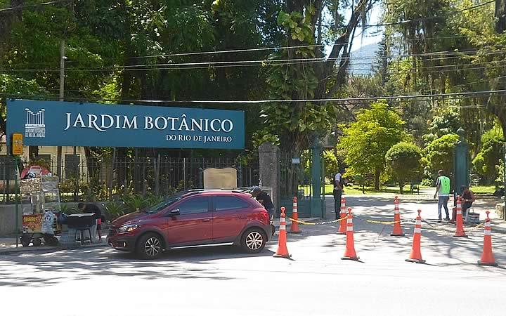 Entrada Principal do Jardim Botânico