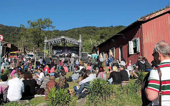 Festival de inverno em Paranapiacaba