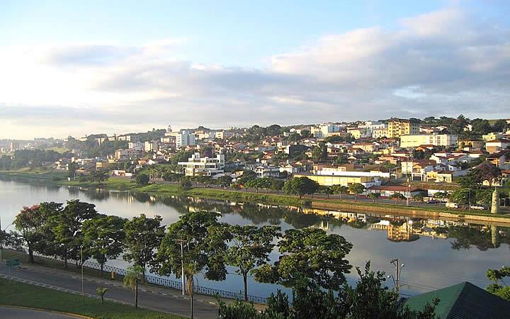 Lago do Taboão em Bragança Paulista