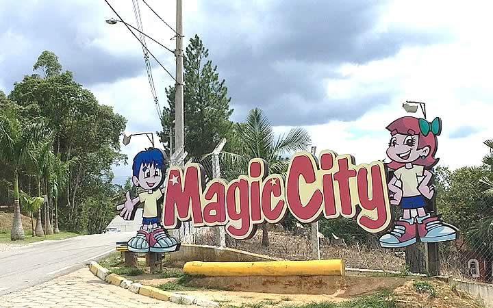Letreiro do Magic City