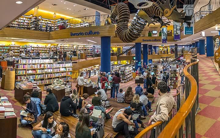 Livraria cultural - Avenida Paulista