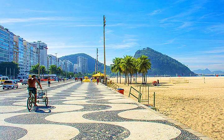 Orla da Praia de Copacabana