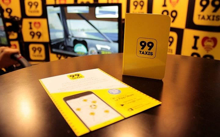 Panfleto 99 táxi