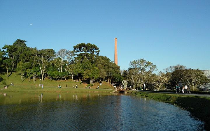 Parque São Lourenço - Parques em Curitiba