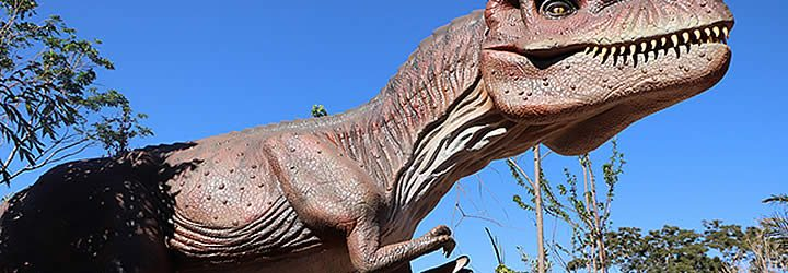 Parque dos Dinossauros em SP