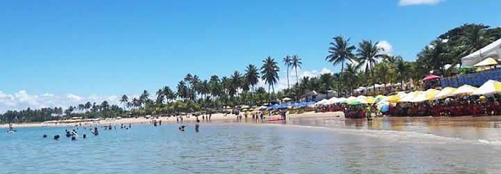 Praia em Guarajuba