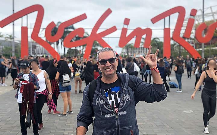 Festival de Rock no rio - Letreiro