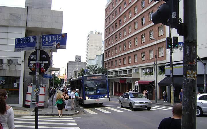 Rua Augusta Avenida Paulista