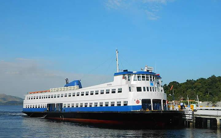 Barca na Ilha de Paquetá