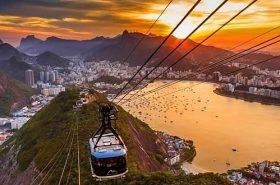 Bondinho no Rio de Janeiro
