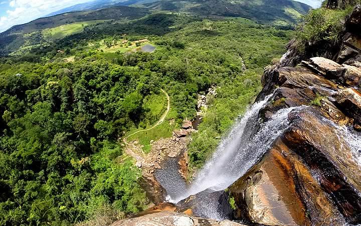 Cachoeira Alta - Cachoeiras em Minas Gerais