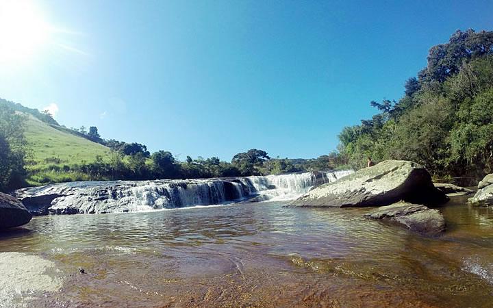 Cachoeira do Itaúna em Baependi