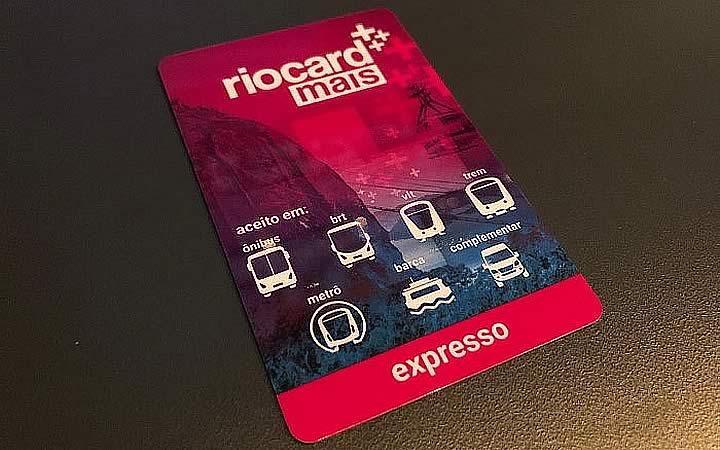 Cartão Rio Card - Expresso