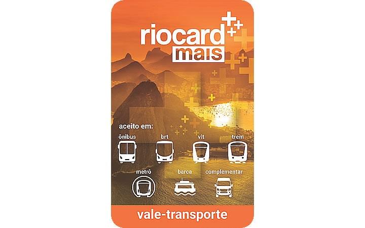 Cartão Vale-transporte - Rio Card