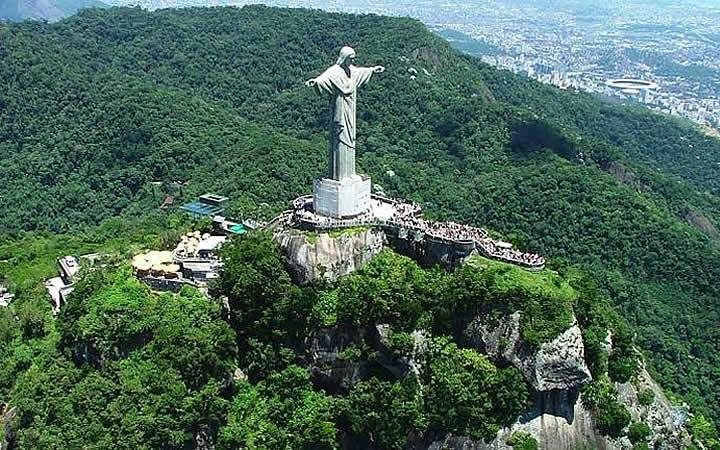 Cristo Redentor - Parque Nacional da Tijuca