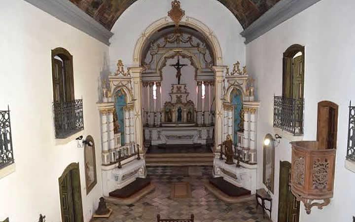 Interior do Museu de Arte Sacra de Sergipe