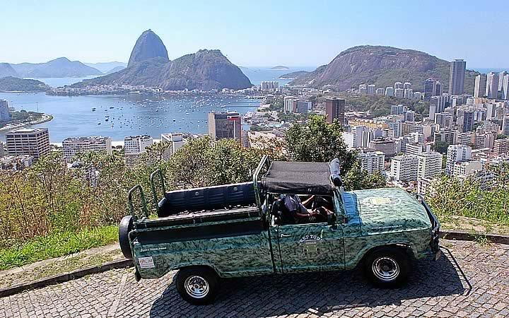 Jeep Tour - Vista para o pão de açúcar