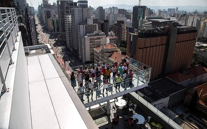 Mirante Sesc 24 de Maio - Mirantes em São Paulo