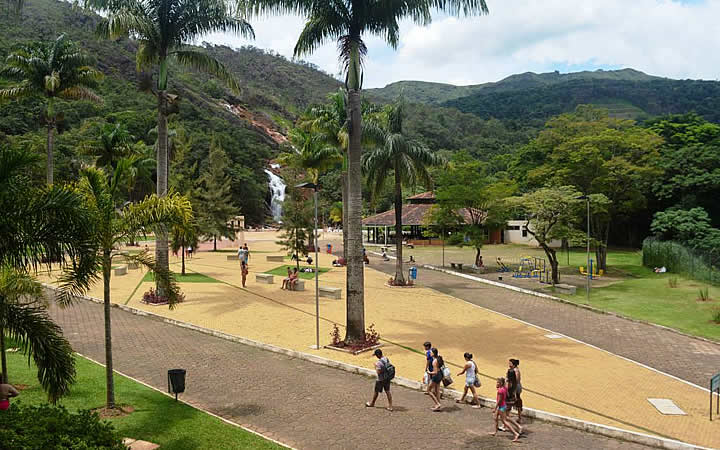 Parque Ecológico da Cachoeira - Turismo religioso em Congonhas