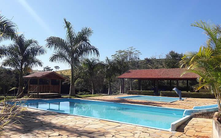 Piscina do Hotel Fazenda Topada