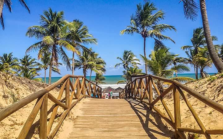 Ponte para praia do Forte - Bahia
