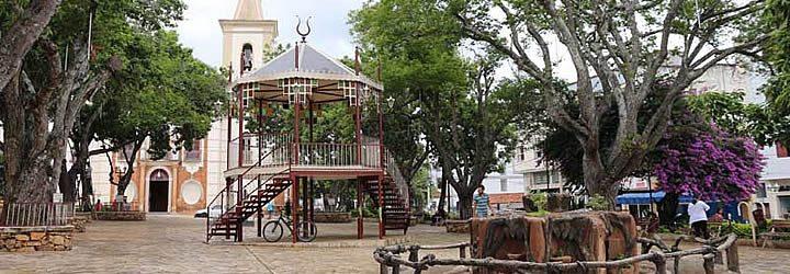 Praça Matriz de Baependi