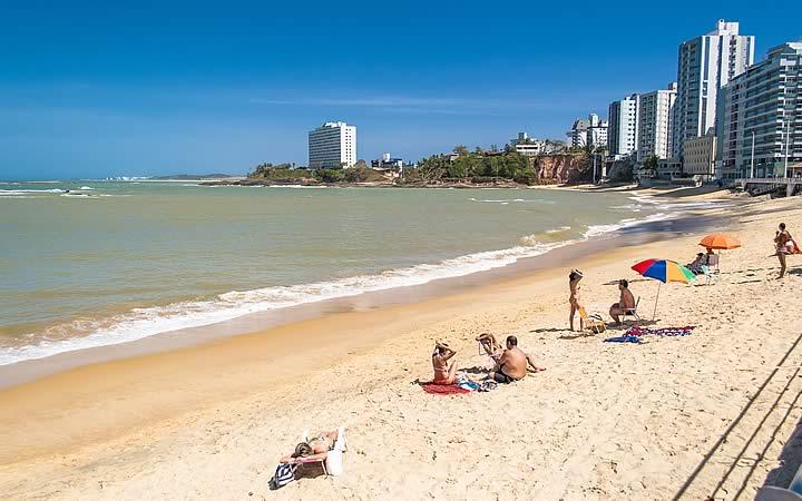 Praia da Areia Preta - Praias do Espírito Santo