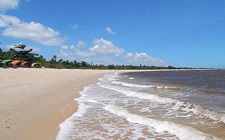 Praia de Santo André - Santa Cruz Cabrália