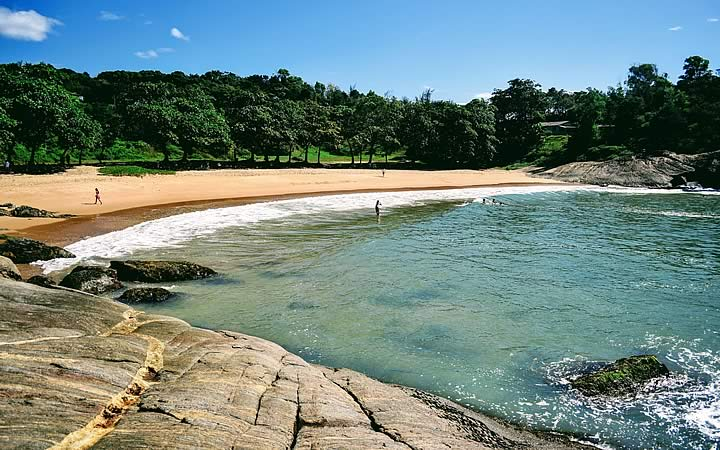 Praia dos padres - Praias do Espírito Santo