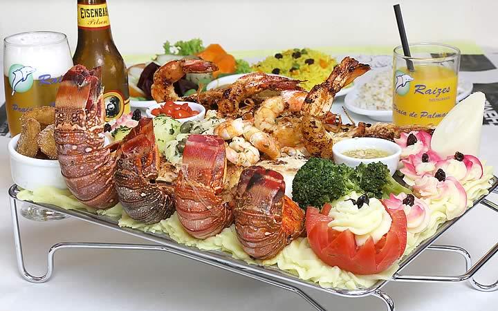 Prato típico Restaurante Raízes