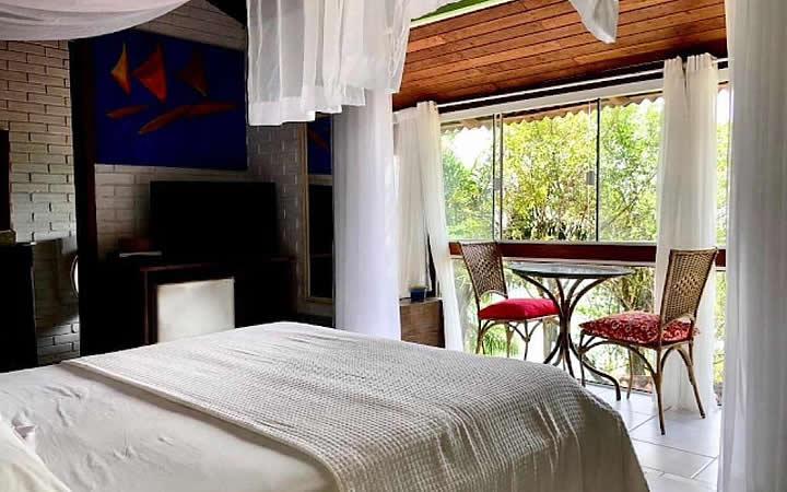 Quarto na Villa dos Ganchos Hospedaria