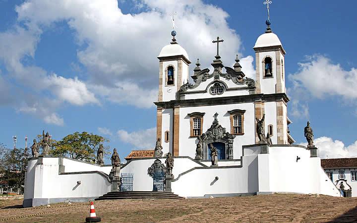 Santuário do Bom Jesus do Matosinho - Turismo religioso em Congonhas
