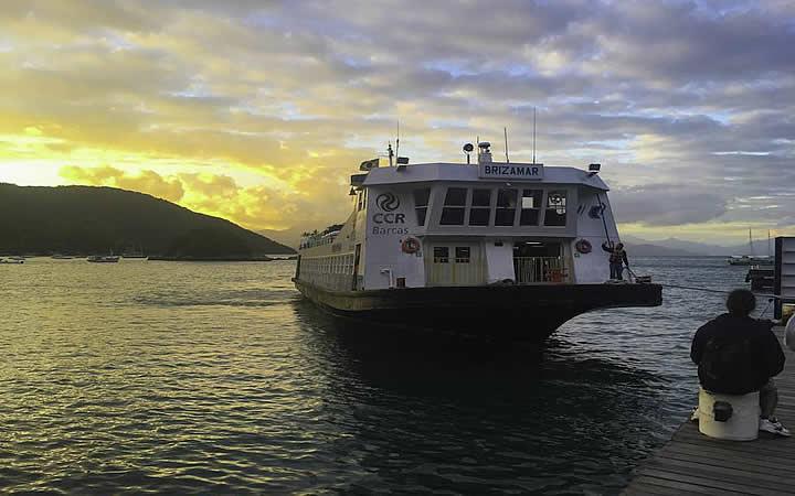 CCR barcas - Ilha Grande