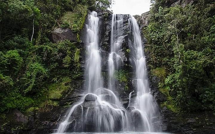 Cachoeira no Vale dos Garcias