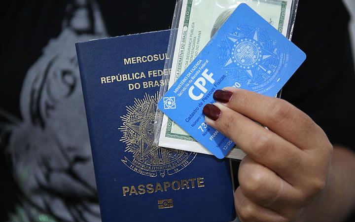 Documentos para viagem