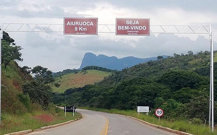 Entrada de Aiuruoca