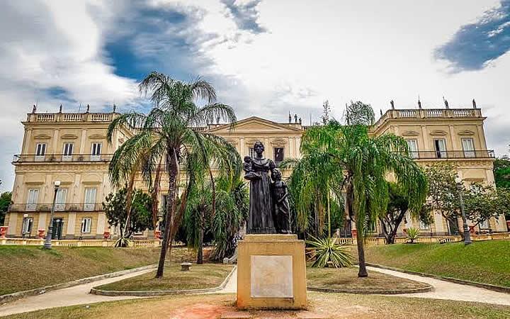 Estátua na Quinta da Boa Vista