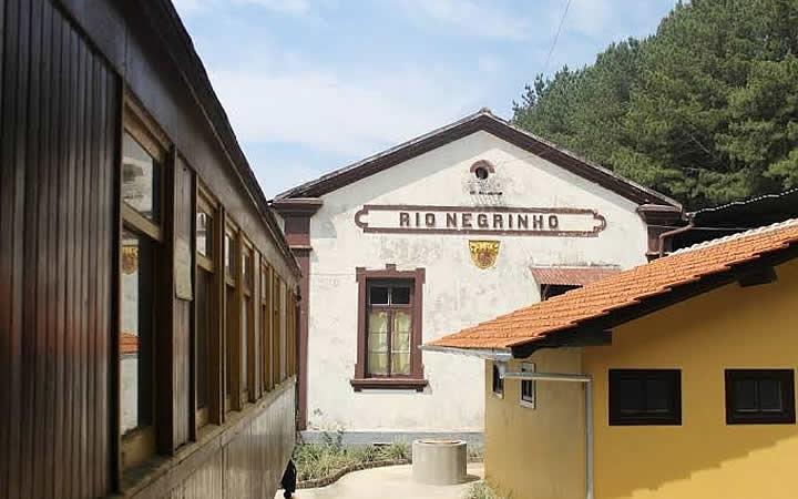 Estação em Rio Negrinho