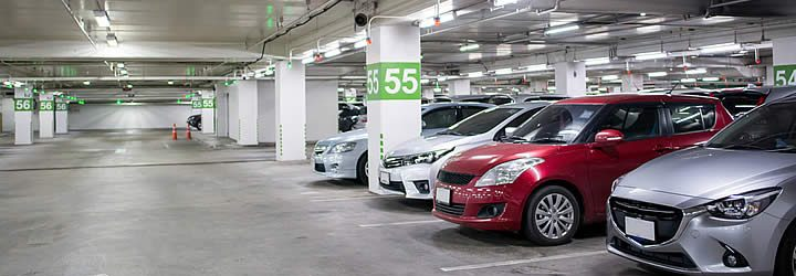 Estacionamento no aeroporto Galeão