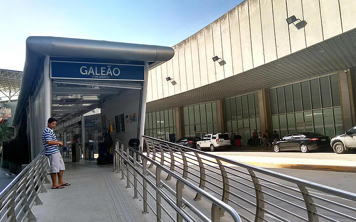 Estacionamento do Aeroporto Galeão
