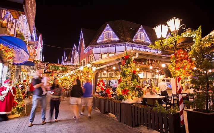 Evento Magia de Natal em Blumenau
