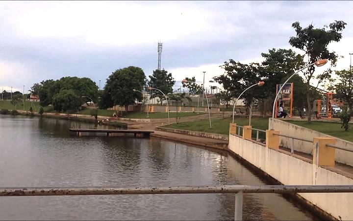 Lago em Goiatuba