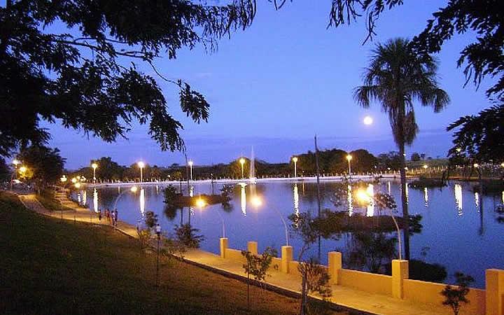 Lagoa em Goiatuba