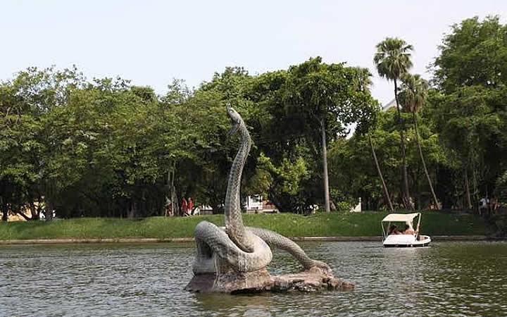 Monumento na quinta da Boa Vista