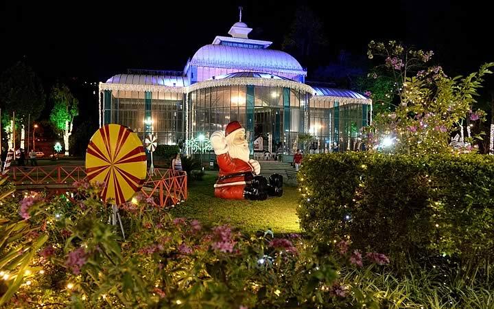 Palácio de Cristal em Petrópolis - Natal