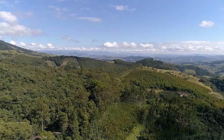 Parque Estadual da Serra do Papagaio - Vista aérea
