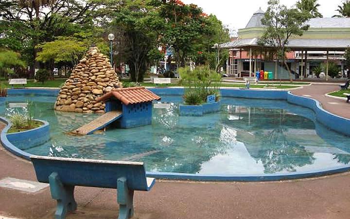 Parque das águas - Lambari