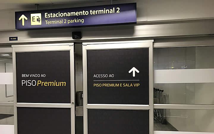 Piso Premium - Estacionamento no aeroporto Galeão