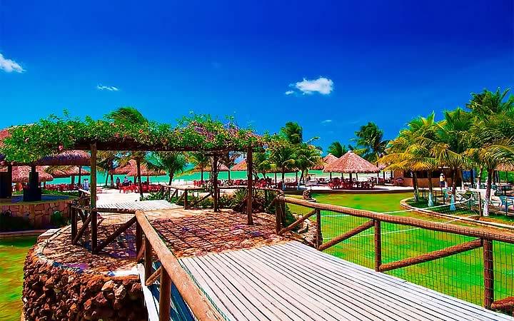 Ponte de madeira Manoa Park